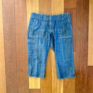 DKNY soft denim Capri jeans